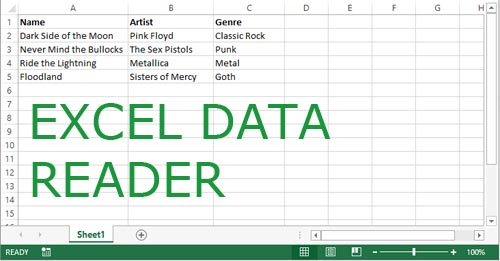 C# Excel Data Reader/Writer