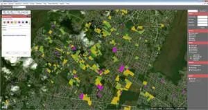 GIS Maps for Production Monitoring