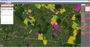 Precision Agriculture GIS System