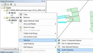 ArcGIS Switch Selection Function